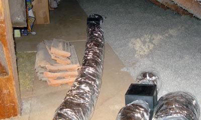 Ventilation hygroréglable